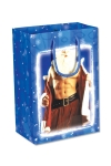 Un joli sac cadeau avec un Père Noel très coquin en illustration !