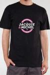 Le Tee-shirt exclusif (visuel 4) � l'effigie de  Jacquie & Michel, votre site amateur pr�f�r�.