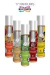 Lubrifiant comestible, � base d'eau, format voyage (30ml), marque System Jo. 17 parfums diff�rents.