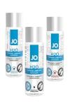 Le lubrifiant de r�f�rence de System Jo, � base d'eau et disponible en version normale, chauffante ou rafraichissante.