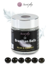 La chaleur du corps transforme la brazilian ball en liquide apportant plus de confort, votre imagination s'en trouve exacerb�e.