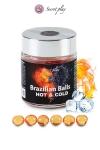 La chaleur du corps transforme la brazilian ball en liquide apportant chaleur puis frisson, votre imagination s'en trouve exacerb�e.