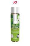 Lubrifiant aromatis� comestible parfum pomme au format 120 ml de la marque Am�ricaine System Jo.