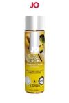 Lubrifiant aromatis� comestible parfum banane au format 120 ml de la marque Am�ricaine System Jo.