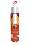 Lubrifiant aromatis� comestible parfum p�che au format 120 ml de la marque Am�ricaine System Jo.