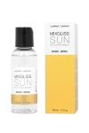 Fluide 2 en 1 massage et lubrifiant riche en silicone, parfum� au mono�.