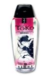 Lubrifiant intime � base d'eau, aromatis� vin p�tillant et fraise, pouvant �tre l�ch�, par Shunga, le sp�cialiste du plaisir intime.