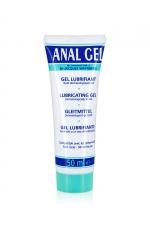Anal gel - 50 ml - Gel conçu pour faciliter la pénétration anale. Compatible avec le préservatif, non gras, ne tache pas.