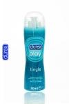 Gel lubrifiant intime Durex � effet frissons: fra�cheur intense, chatouillements et nouvelles sensations.