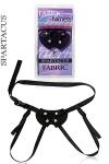 Simplicit� et confort avec le gode ceinture Fabric Ulti-Mate de Spartacus en nylon, pour hommes et femmes.