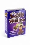 150 g de bonbons au gout Cola, des bonbons  pour adultes  en raison de leur forme de zizi.