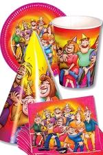 Kit Fiesta Cotillons - Un ensemble d'accessoires de f�te humoristique et coquin !