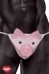 String humoristique de petit cochon rose qui fait grouink grouink lorsqu'on appuie sur son museau. Tentant, non ?