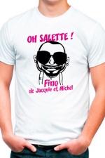 Tee shirt Fino - J&M -  Oh la la...  voici le dernier Tee shirt de chez J&M et il nous vient tout droit des bouches du Rhone!