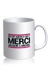 Voici le mug officiel du site Jacquie et Michel, mod�le blanc.
