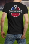 Soutenez l'�quipe de France de Football � votre mani�re en portant le Tee shirt Jacquie et Michel sp�cial Foot.