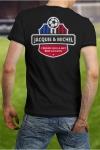 Soutenez l'�quipe de France de Football � votre mani�re en portant le Tee shirt Jacquie et Michel sp�cial Foot.