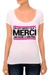 J&M pensent aussi (et surtout) aux femmes avec un nouveau tee-shirt sp�cifique mettant mieux en valeur leurs charmes.