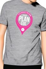 T-Shirt J&M J'ai un Plan cul - gris - T-shirt  J'ai un plan cul  pour ne plus laisser aucune âme en peine. Un t-shirt de la collection officielle Jacquie & Michel.