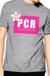 PCR  pour  Plan cul r�gulier , un T-shirt de la collection officielle Jacquie & Michel, coloris gris.