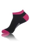 Paire de chaussettes Jacquie et Michel pour hommes, tige basse, coloris noir.