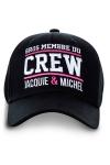 Casquette  Gros membre du Crew Jacquie & Michel  pour bien montrer qu'il y a du lourd sous le capot !