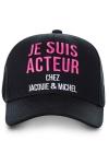 La casquette J&M Acteur, la casquette ultime pour faire fantasmer les filles !