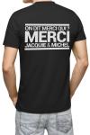 Le tee-shirt culte de Jacquie & Michel dans une version phosphorescente qui brille dans le noir.