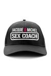 Exclusivement destin�e aux fans dot�s d'un gros bagage Cul-turel, voici la casquette sex-coach de Jacquie & Michel.