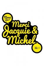 Autocollant J&M 10 x 10 cm - Le sticker de Jacquie & Michel à coller où vous voulez.