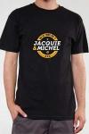 Le Teeshirt exclusif (visuel 3) � l'effigie de  Jacquie & Michel, votre site amateur pr�f�r�.