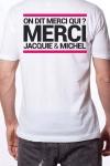Le Tee-shirt exclusif (visuel 6) � l'effigie de  Jacquie & Michel, votre site amateur pr�f�r�.