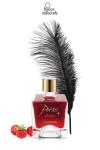 Flacon de peinture corporelle comestible au parfum d�licieux de fraise, par Bijoux Indiscrets.