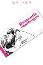 Carnet Romantic Challenges - 20 Challenges  à partager pour des moments très érotiques.