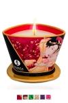 Ce produit unique sert � la fois de chandelle pour cr�er une ambiance parfum�e ainsi qu'une huile � massage.