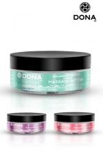 Beurre de massage aux phéromones - Excitez vos sens et les siens avec le beurre de massage parfumé DONA.
