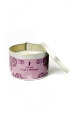 Bougie de massage Monoï - Bougie de massage parfum Monoï fabriquée en France pour des moments sensuels.