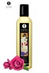 Huile de massage �rotique  Aprodisia  � la rose pour �veiller les sens et la r�ceptivit� amoureuse, par Shunga.