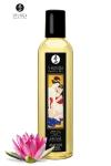 Huile de massage �rotique  Amour  au parfum coeur de lotus pour �veiller les sens et la r�ceptivit� amoureuse, par Shunga.