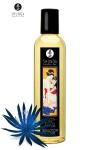 Huile de massage érotique  Séduction  au parfum fleur de minuit pour éveiller les sens et la réceptivité amoureuse, par Shunga.
