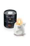Bougie �rotique se transformant en huile de massage sensuelle au go�t gourmand de chocolat.