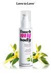 A la fois un fluide de massage et un lubrifiant intime parfum� � l'Ylang-Ylang, par Love to Love.