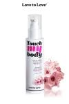 A la fois un fluide de massage et un lubrifiant intime parfum� � la fleur de cerisier, par Love to Love.
