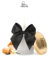 Superbe bougie se transformant en huile ti�de au doux parfum Caramel par Bijoux Indiscrets.