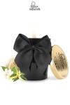 Bougie de massage parfum�e avec l�essence  Aphrodisia  au pouvoir aphrodisiaque, par Bijoux Indiscrets.