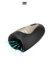 masturbateur de qualit� Premium, avec fonction chauffante, 7 modes de vibrations et 3 modes de succion jouissifs.