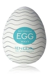 Egg Wavy, un masturbateur de nouvelle g�n�ration  en forme d'oeuf, sign� Tenga, le g�nial fabricant japonais.