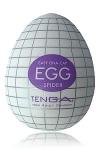 Egg Spider, votre pi�ge � plaisir! un masturbateur de nouvelle g�n�ration  en forme d'oeuf, sign� Tenga.