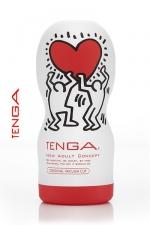 Tenga original Vacuum - Keith Haring - La nouvelle version de l'incontournable masturbateur Tenga Deep Throat, le spécialiste de la fellation.