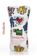 Tenga  Soft tube - Keith Haring - La nouvelle version du masturbateur Soft Tube, pour toujours plus de plaisir.